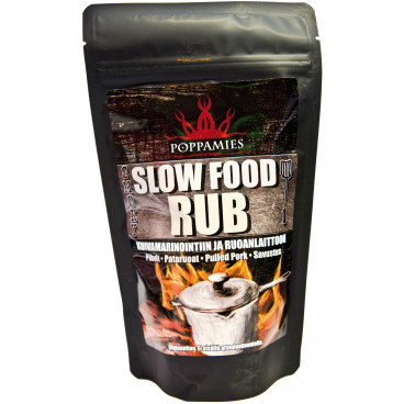 Slow Food RUB 200g, POPPAMIES