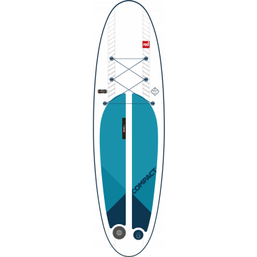 SUP-lauta RED PADDLE CO Compact package, puolet kevyempi lauta, max. paino 95kg