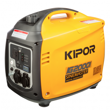 Aggregaatti Kipor IG2000i 2kW digitaali NEW EDITION