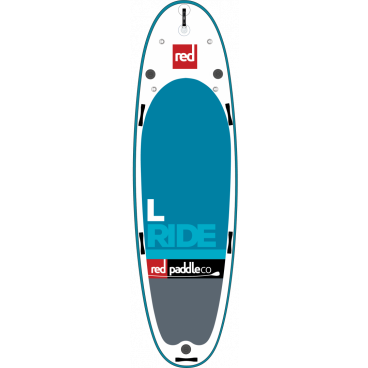 "SUP-lauta RED PADDLE CO Ride L 14' x 48"", neljälle"