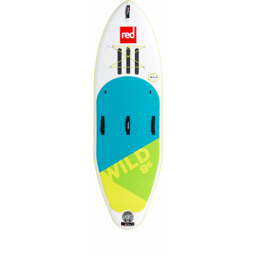 "SUP-lauta RED PADDLE CO Wild 9'6"" x 34"", max. paino 120kg"