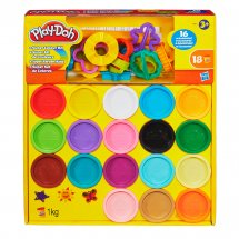 PLAY-DOH SUPER COLOR KIT, muovailuvahasetti eri värejä, 3+